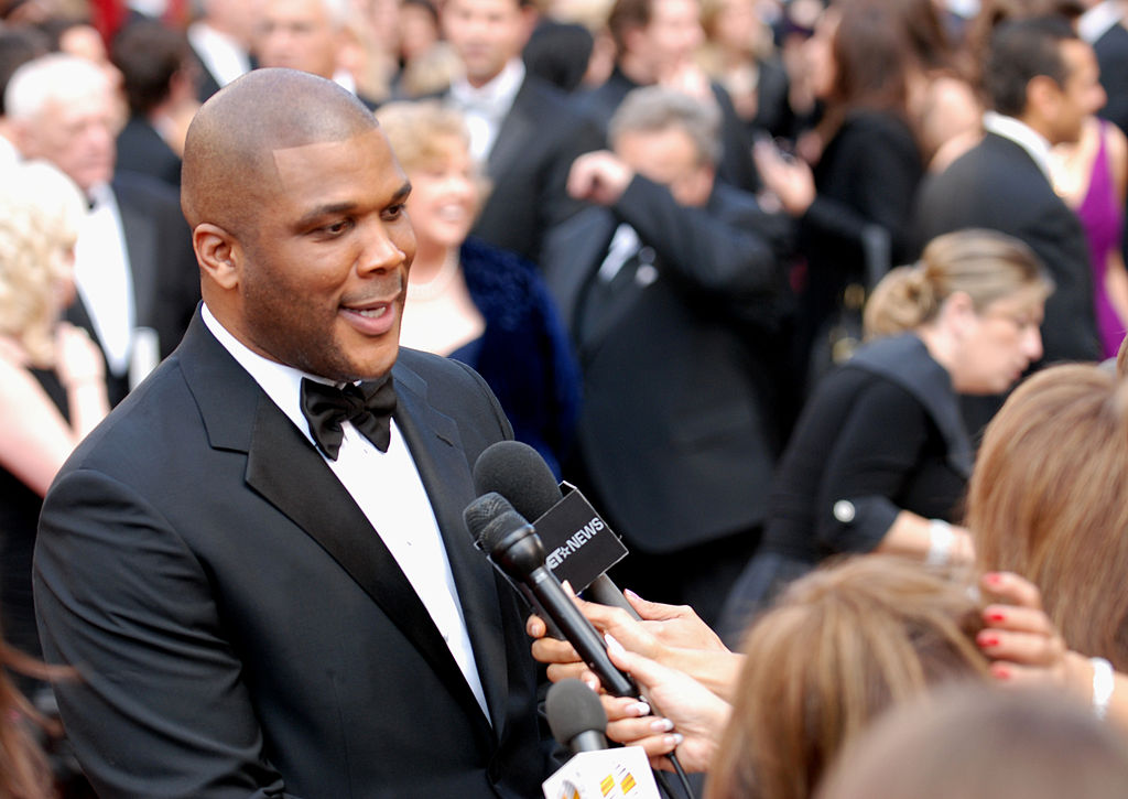 African-American Hollywood Producer Tyler Perry Opens New Atlanta Studio With Star-Studded Worship Service