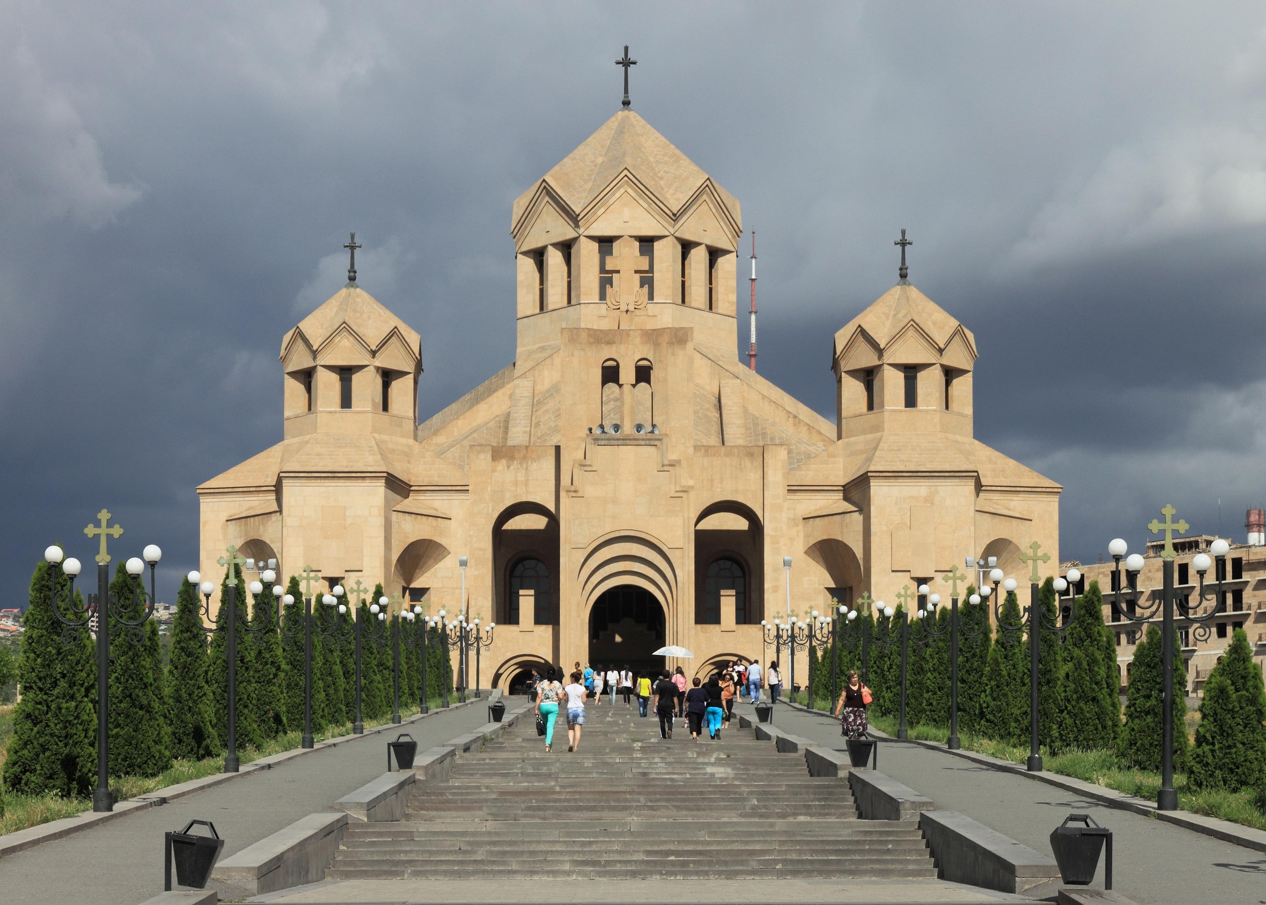 Kim Kardashian and Kids Baptized at Historic Armenian church