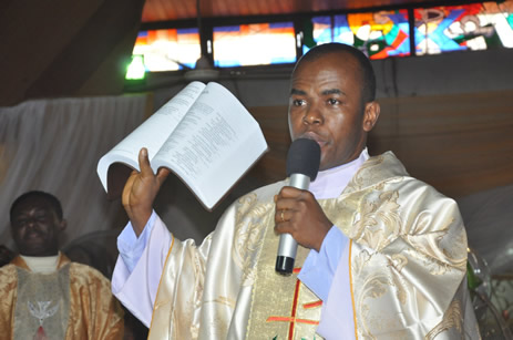 Father Mbaka on 30 Days Suspension by Catholic Church for Allegedly Violating Catholic Oath